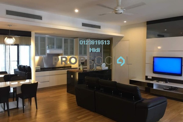 For Rent Serviced Residence at St Mary Residences, KLCC Freehold Fully Furnished 2R/2B 9k