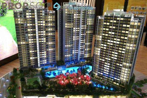 For Sale Serviced Residence at Sunway Mentari, Bandar Sunway Freehold Semi Furnished 2R/2B 445k