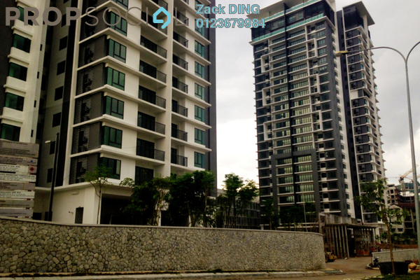 For Rent Condominium at Gembira Residen, Kuchai Lama Freehold Semi Furnished 3R/2B 1.8k