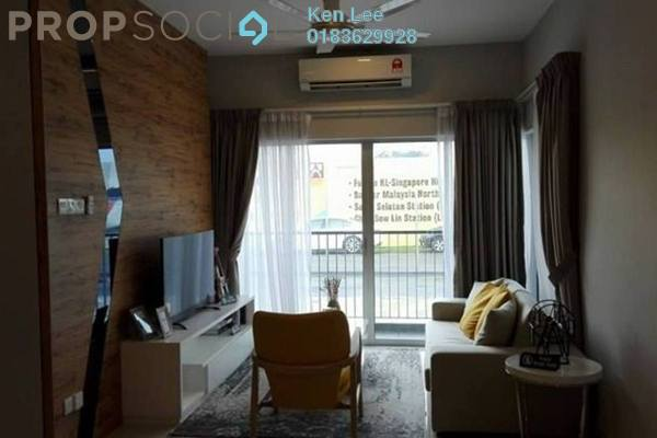 For Sale Serviced Residence at Razak City Residences, Sungai Besi Freehold Fully Furnished 3R/3B 468k