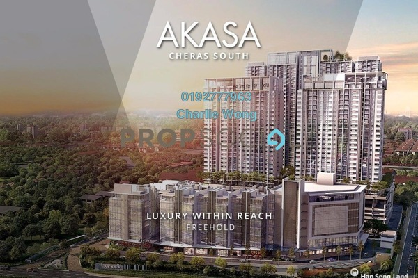 For Sale Condominium at Akasa, Balakong Freehold Semi Furnished 2R/2B 461.0千