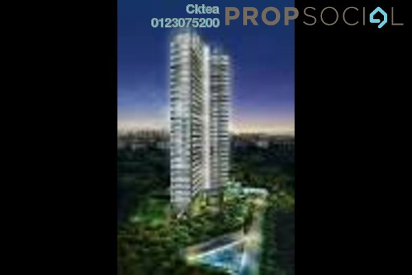 For Sale Condominium at The Address, Taman Desa Freehold Unfurnished 3R/3B 644k