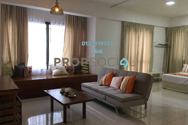 For Rent Serviced Residence at Da Men, UEP Subang Jaya Freehold Fully Furnished 1R/1B 2k