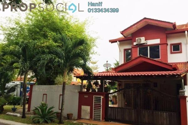 For Sale Terrace at Kemuning Greenhills, Kota Kemuning Freehold Semi Furnished 5R/3B 950k