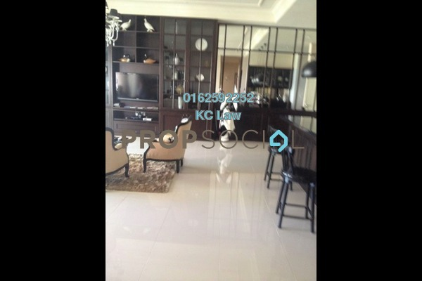 For Rent Condominium at The Park Residences, Bangsar South Freehold Fully Furnished 4R/4B 5k