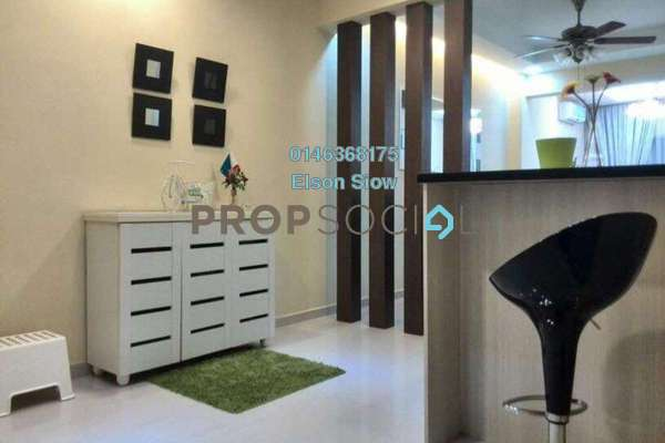 For Sale Condominium at Kepong Central Condominium, Kepong Freehold Semi Furnished 3R/2B 360k