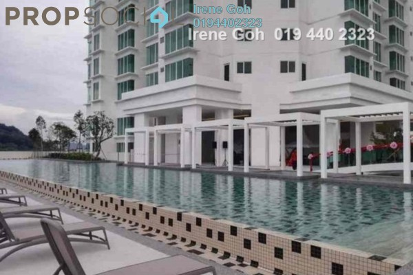For Rent Condominium at The Clovers, Sungai Ara Freehold Unfurnished 3R/2B 1.7k