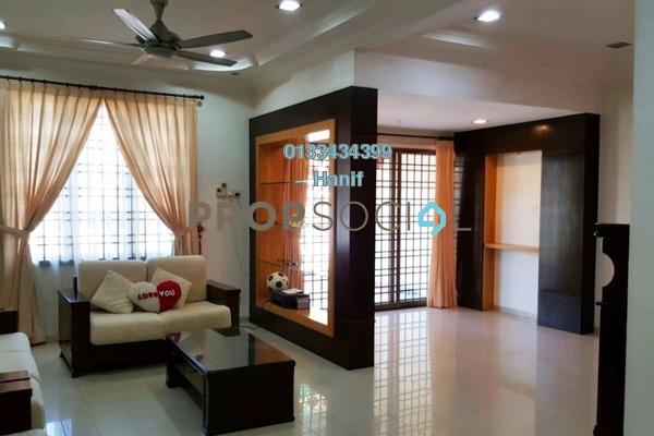For Sale Terrace at Kemuning Greenhills, Kota Kemuning Freehold Semi Furnished 4R/3B 880k