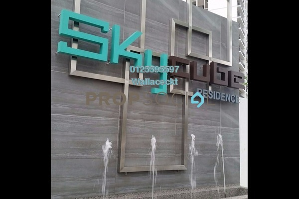 For Sale Condominium at Skycube Residence, Sungai Ara Freehold Unfurnished 3R/2B 888k