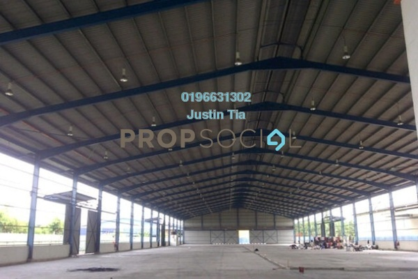 For Rent Factory at Kampung Telok Gong , Port Klang Freehold Semi Furnished 0R/0B 143k