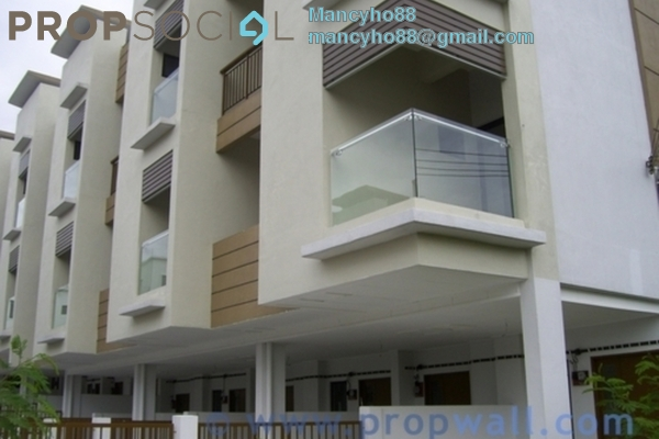 For Sale Terrace at Westwood Terrace, Bandar Utama Freehold Semi Furnished 3R/3B 1.04m