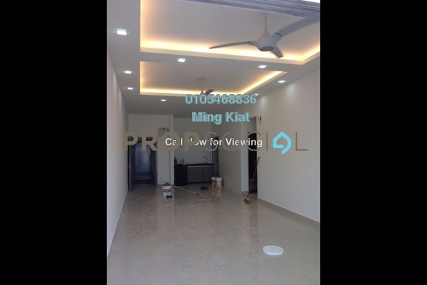 For Rent Condominium at DeSkye Residence, Jalan Ipoh Freehold Semi Furnished 3R/2B 1.7k
