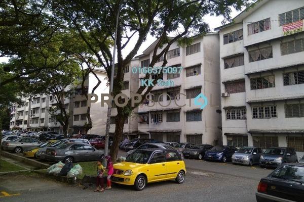 For Sale Apartment at Sri Cempaka Flat, Bandar Sri Damansara Freehold Semi Furnished 2R/1B 99k