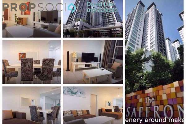 For Rent Condominium at The Saffron, Sentul Freehold Fully Furnished 3R/2B 2.8k