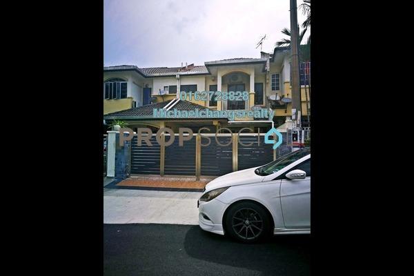 For Sale Terrace at Taman Wawasan, Pusat Bandar Puchong Freehold Semi Furnished 3R/3B 750k