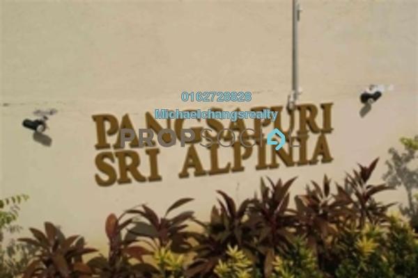 For Sale Apartment at Sri Alpinia, Bandar Puteri Puchong Freehold Semi Furnished 3R/2B 260k