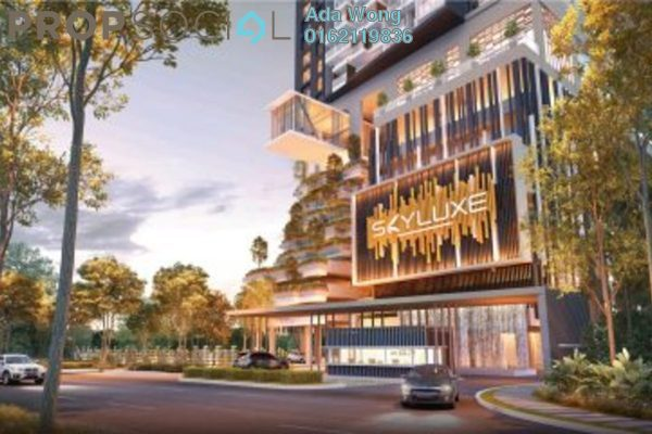 For Sale Serviced Residence at SkyLuxe On The Park, Bukit Jalil Freehold Semi Furnished 0R/0B 604k