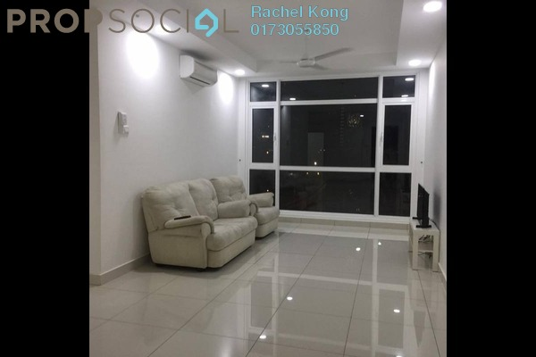 For Rent Serviced Residence at Central Residence, Sungai Besi Freehold Semi Furnished 3R/2B 1.8k