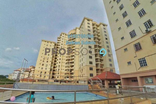 For Sale Apartment at Zamrud Apartment, Old Klang Road Freehold Fully Furnished 3R/2B 400k