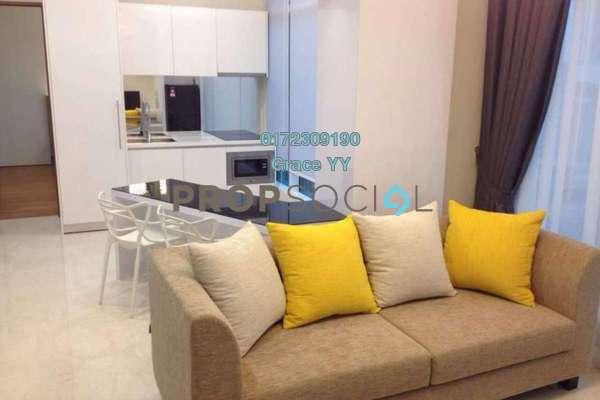 For Sale Condominium at Soho Suites, KLCC Freehold Fully Furnished 2R/2B 988k