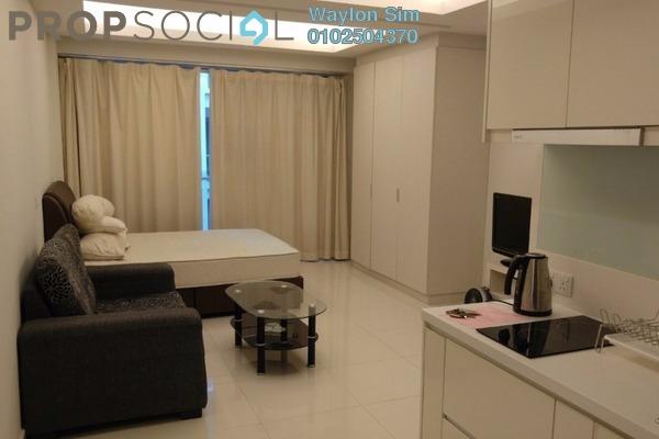 For Rent Condominium at Plaza Damas 3, Sri Hartamas Freehold Fully Furnished 0R/1B 1.8k