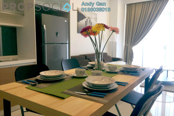 For Rent Condominium at Mirage Residence, KLCC Freehold Fully Furnished 1R/1B 3.5k
