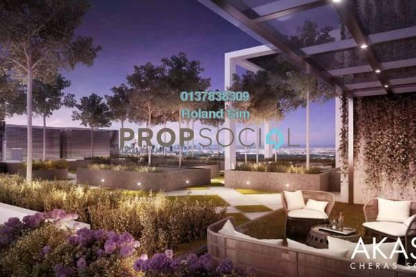 For Sale Condominium at Akasa, Balakong Freehold Semi Furnished 3R/2B 488k