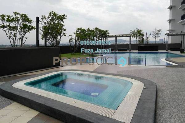 For Rent Condominium at Koi Prima, Puchong Freehold Semi Furnished 3R/0B 1k