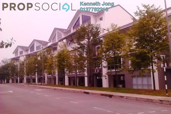 For Rent Townhouse at Lagoon Homes, Kota Kemuning Freehold Fully Furnished 4R/3B 2.3k