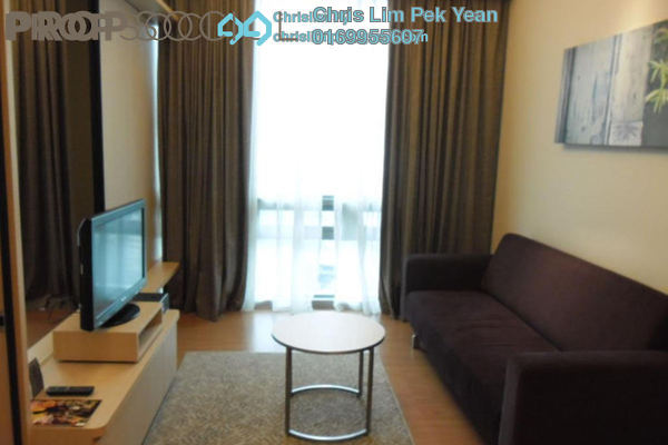 For Rent Condominium at Swiss Garden Residences, Pudu Freehold Fully Furnished 1R/1B 2.3k