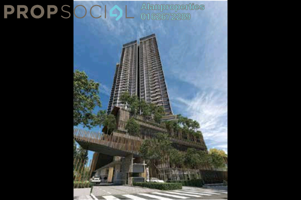 For Sale Serviced Residence at Stonor 3, KLCC Freehold Semi Furnished 2R/2B 1.36m