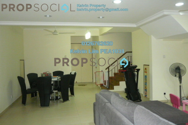 For Rent Townhouse at Mutiara Tropicana, Tropicana Freehold Semi Furnished 3R/0B 1.85k