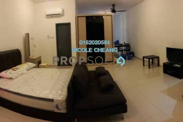 For Rent Condominium at Da Men, UEP Subang Jaya Freehold Fully Furnished 0R/1B 1.7k