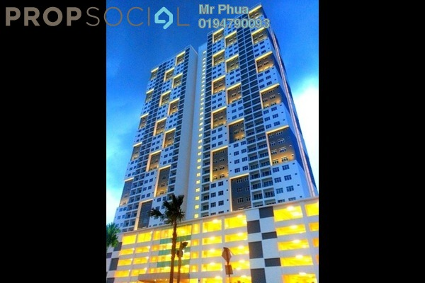 For Sale Condominium at Palma Laguna, Seberang Jaya Freehold Unfurnished 4R/2B 315k