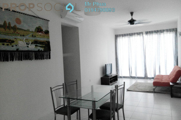 For Rent Condominium at Palma Laguna, Seberang Jaya Freehold Semi Furnished 4R/2B 1.4k