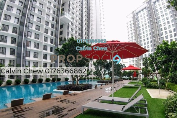 For Sale Condominium at Solstice @ Pan'gaea, Cyberjaya Freehold Unfurnished 2R/2B 495k