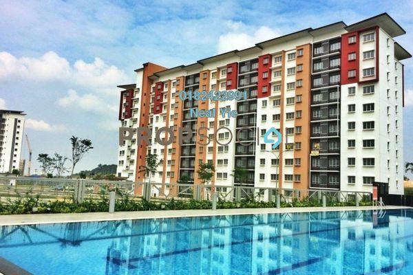 For Sale Condominium at Seri Jati Apartment, Setia Alam Freehold Unfurnished 3R/2B 279k
