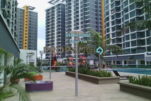 For Sale Condominium at Vista Alam, Shah Alam Leasehold Fully Furnished 2R/1B 470k