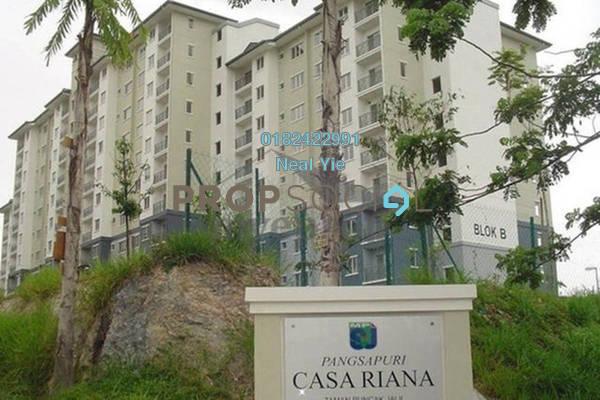 For Sale Condominium at Casa Riana, Bandar Putra Permai Freehold Unfurnished 3R/2B 310k