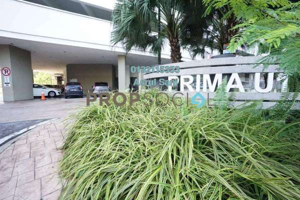 For Rent Condominium at Prima U1, Shah Alam Freehold Semi Furnished 3R/2B 1.7k