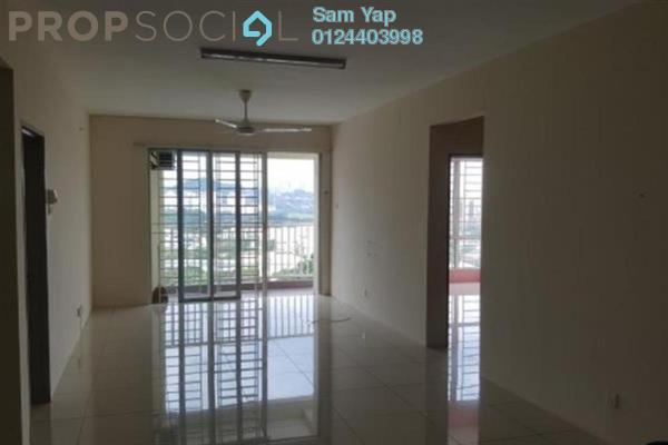 For Sale Condominium at Platinum Lake PV10, Setapak Freehold Semi Furnished 3R/2B 550k