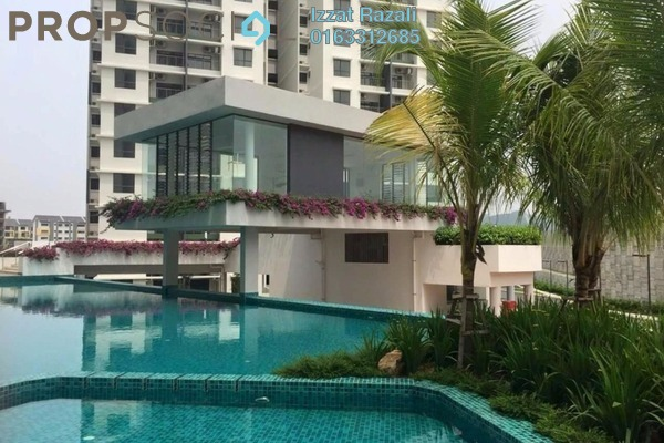 For Sale Condominium at Ivory Residence, Kajang Freehold Semi Furnished 3R/2B 480k