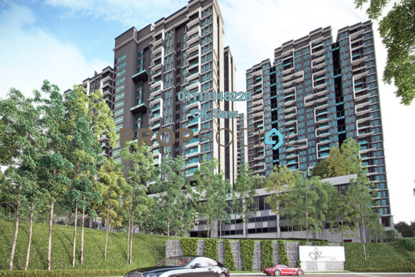 For Rent Condominium at Green Residence, Cheras South Freehold Fully Furnished 3R/2B 1.7k