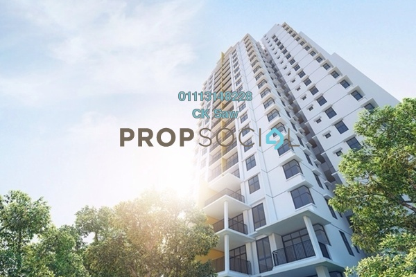 For Rent Condominium at Midfields 2, Sungai Besi Freehold Semi Furnished 3R/2B 2.1k