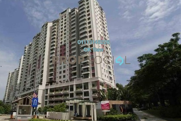 For Rent Condominium at Savanna 1, Bukit Jalil Freehold Fully Furnished 3R/2B 2.4k
