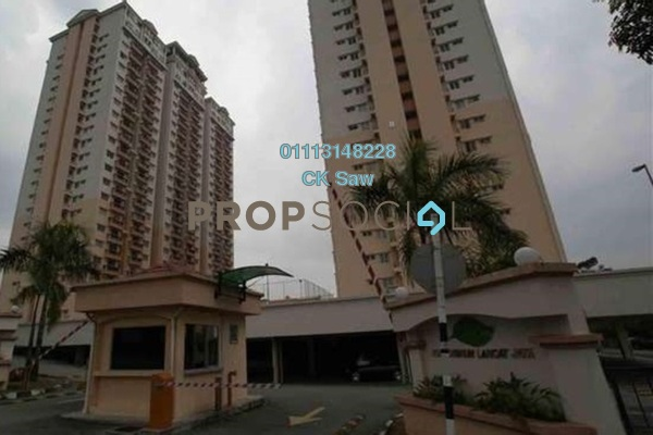 For Sale Condominium at Langat Jaya, Batu 9 Cheras Freehold Semi Furnished 3R/2B 320k