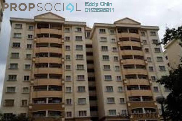 For Sale Condominium at Saraka Apartment, Pusat Bandar Puchong Freehold Semi Furnished 3R/2B 388k