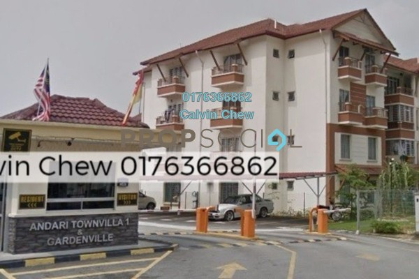 For Sale Apartment at Gardenville Townvilla, Selayang Heights Freehold Unfurnished 3R/2B 315k