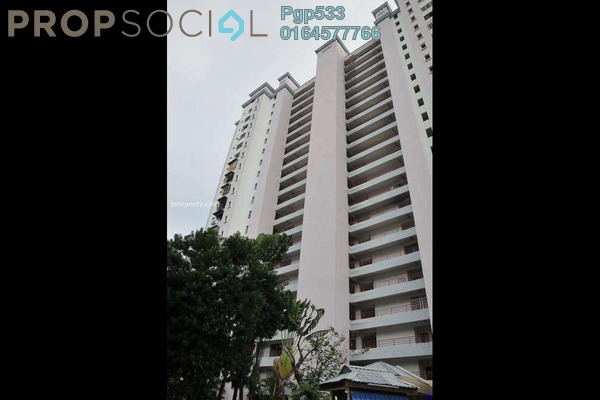 For Rent Apartment at Bukit Dumbar Permai, Gelugor Freehold Fully Furnished 3R/3B 1.3k
