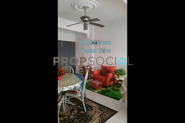 For Sale Condominium at City Garden Palm Villa, Pandan Indah Freehold Semi Furnished 3R/2B 475k